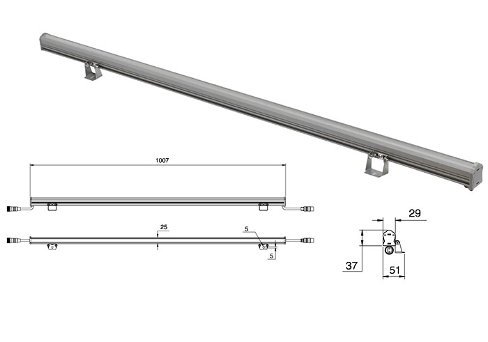 Led Linear Lighting Linear Wall Washers Manufacturer Supplier Exporter