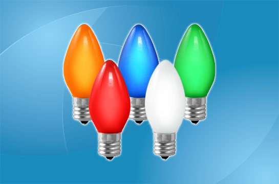 C9 LED Bulbs